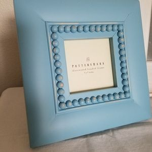 Pottery Barn Frame Baby Blue 3x3